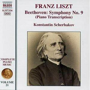 Trascrizione della Sinfonia n.9 di Beethoven - CD Audio di Franz Liszt,Konstantin Scherbakov