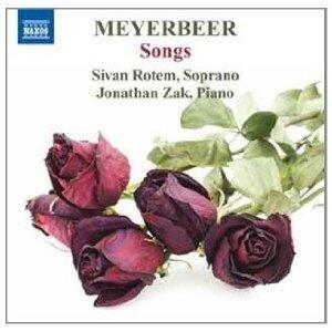 Liriche da camera - CD Audio di Giacomo Meyerbeer