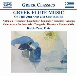 Greek Flute Music - CD Audio di Katrin Zenz