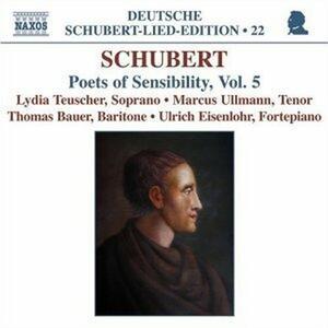 Poets of Sensibility vol.5 - CD Audio di Franz Schubert