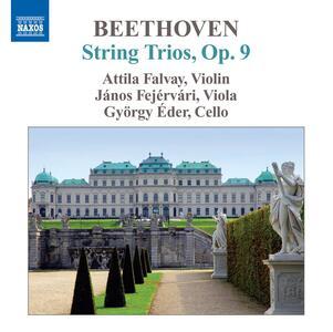 Trii op.9 n.1, n.2, n.3 - CD Audio di Ludwig van Beethoven
