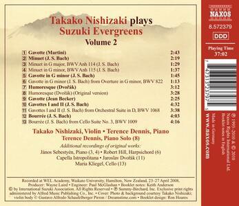Suzuki Evergreens Vol.2 - CD Audio - 2