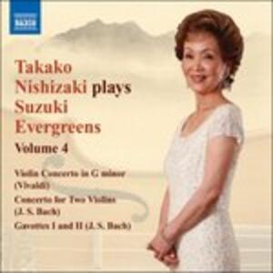 Suzuki Evergreens Vol.4 - CD Audio