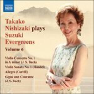 Suzuki Evergreens Vol.6 - CD Audio