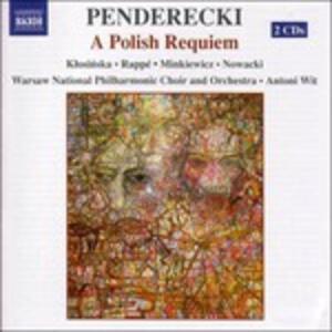 Un Requiem polacco - CD Audio di Krzysztof Penderecki