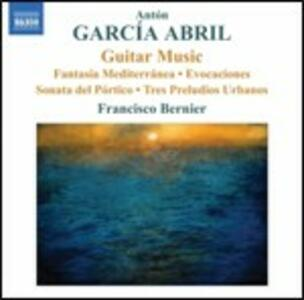 Musica per chitarra - CD Audio di Anton Garcia Abril