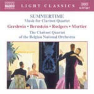 Summertime. Musica per quartetto di clarinetti - CD Audio