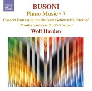 Opere per pianoforte vol.7 - CD Audio di Ferruccio Busoni