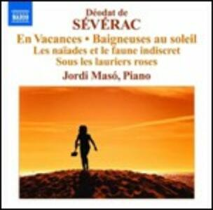Musica per pianoforte vol.2 - CD Audio di Deodat de Severac