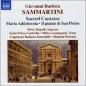 Maria Addolorata - Il pianto di San Pietro - CD Audio di Giuseppe Sammartini