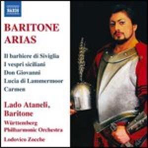 Arie per baritono - CD Audio di Lado Atanieli