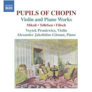 Pupils of Chopin - CD Audio di Thomas Tellefsen,Karol Mikuli,Carl Filtsch