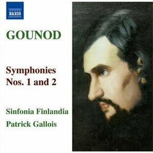 Sinfonie n.1, n.2 - CD Audio di Charles Gounod,Patrick Gallois,Sinfonia Finlandia