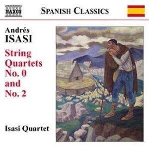 Quartetti n.0, n.2 - CD Audio di Andrés Isasi,Isasi Quartet