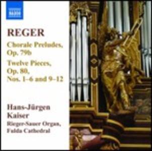 Opere per organo vol.11 - CD Audio di Max Reger