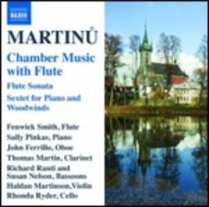 Musica da camera con flauto - CD Audio di Bohuslav Martinu