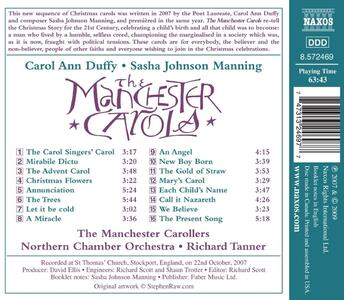 Carol Ann Duffy -The Manchester Carols - CD Audio - 2