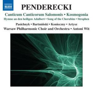 Canticum Canticorum Salomonis - Kosmogon - CD Audio di Krzysztof Penderecki
