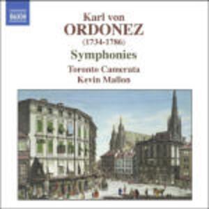 Sinfonie - CD Audio di Karl von Ordonez,Kevin Mallon,Toronto Camerata