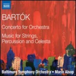 Concerto per orchestra - Musica per archi - CD Audio di Bela Bartok