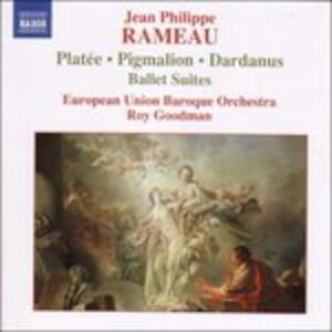 Suite From Platee-Pigmali - CD Audio di Jean-Philippe Rameau