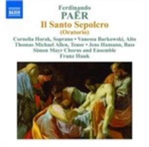 Il Santo Sepolcro - CD Audio di Ferdinando Paer