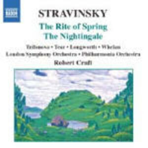 CD La sagra della primavera (Le Sacre du Printemps) - Le chant du rossignol di Igor Stravinsky