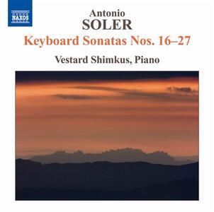 Sonate per tastiera - CD Audio di Antonio Soler,Vestard Shimkus