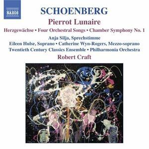 Pierrot Lunaire - Sinfonia da camera - Lieder op.22 - CD Audio di Arnold Schönberg,Anja Silja,Robert Craft