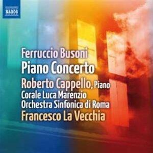 Concerto per pianoforte - CD Audio di Ferruccio Busoni