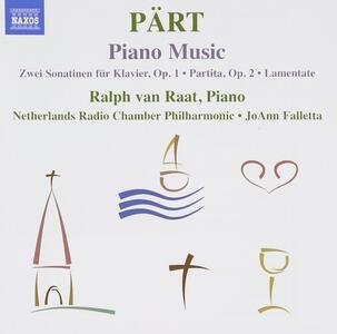 Musica per pianoforte - CD Audio di Arvo Pärt,Ralph van Raat