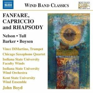 Fanfare, Capriccio and Rhapsody - CD Audio di John Boyd