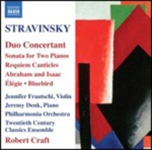 Duo concertant e altri brani - CD Audio di Igor Stravinsky,Robert Craft,Twentieth Century Classics Ensemble