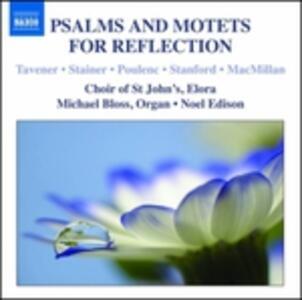 Salmi e Mottetti per La Meditazione - CD Audio