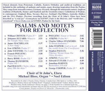 Salmi e Mottetti per La Meditazione - CD Audio - 2