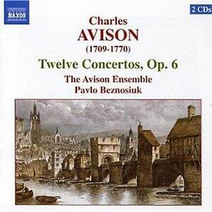 Concerti op.6 - CD Audio di Charles Avison