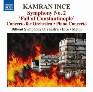 Sinfonia n.2 - Concerto per pianoforte - CD Audio di Kamran Ince