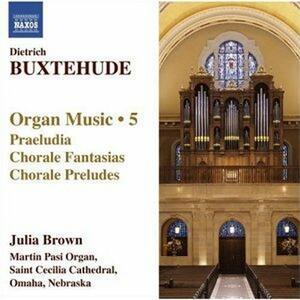 Opere per organo vol.5 - CD Audio di Dietrich Buxtehude,Julia Brown
