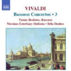 Concerti per fagotto vol.3 - CD Audio di Antonio Vivaldi