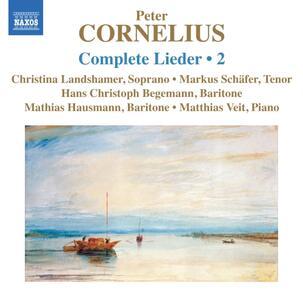 Lieder vol.2 - CD Audio di Peter Cornelius