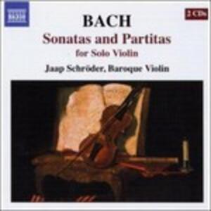 Sonate e Partite per violino complete - CD Audio di Johann Sebastian Bach
