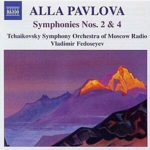 Sinfonie n.2, n.4 - CD Audio di Alla Pavlova