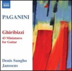 Ghiribizzi per chitarra - CD Audio di Niccolò Paganini