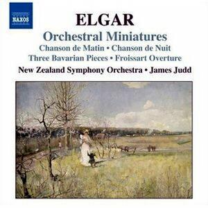 Orchestral Miniatures - CD Audio di Edward Elgar,New Zealand Symphony Orchestra,James Judd