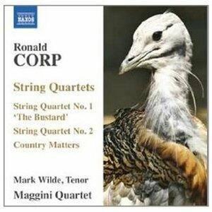 Quartetti per archi n.1, n.2 - CD Audio di Maggini Quartet,Ronald Corp