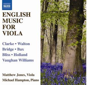 Musica inglese per viola e pianoforte - CD Audio di Matthew Jones,Michael Hampton