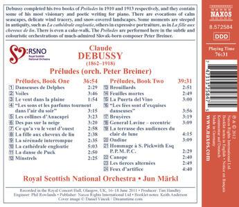 24 Preludi - CD Audio di Claude Debussy - 2
