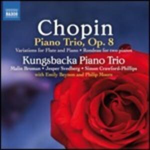 Rondò per 2 pianoforti - Trio con pianoforte - CD Audio di Fryderyk Franciszek Chopin