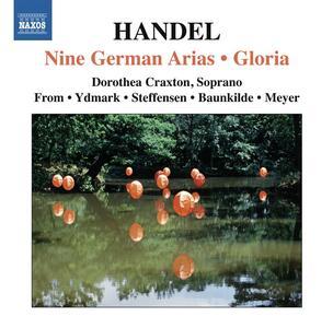 9 Arie tedesche - Gloria - CD Audio di Georg Friedrich Händel