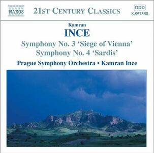Sinfonie n.3, n.4 - CD Audio di Kamran Ince